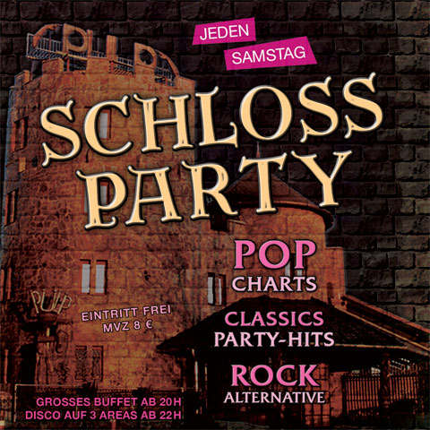 Samstags: Schlossparty